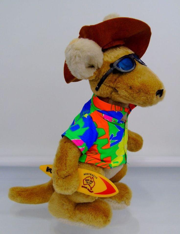 "Kangaroo Surfer Ron Jon Surf Shop Australia Korky Plush Stuffed Animal 16"" Aussi | Toys & Hobbies, Stuffed Animals, Other Stuffed Animals | eBay!"