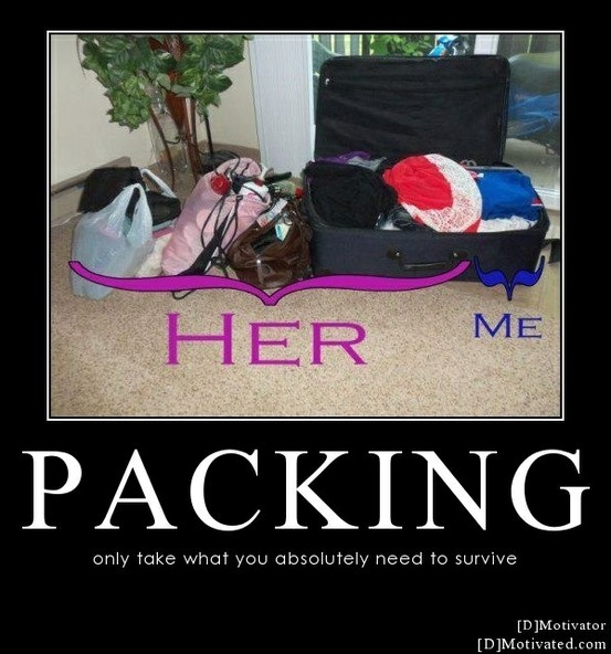 LOL...good to know I am not the only one! ;-DGood Things, Lol So True, Future Husband, Packing Yup, Truths, Too Funny, Married Life, Totally Me, True Stories