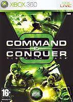 COMMAND & CONQUER 3 :TIBERUM WARS  XBOX 360  NUOVO!!!