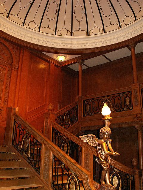 Titanic's Grand Staircase (Exhibit)