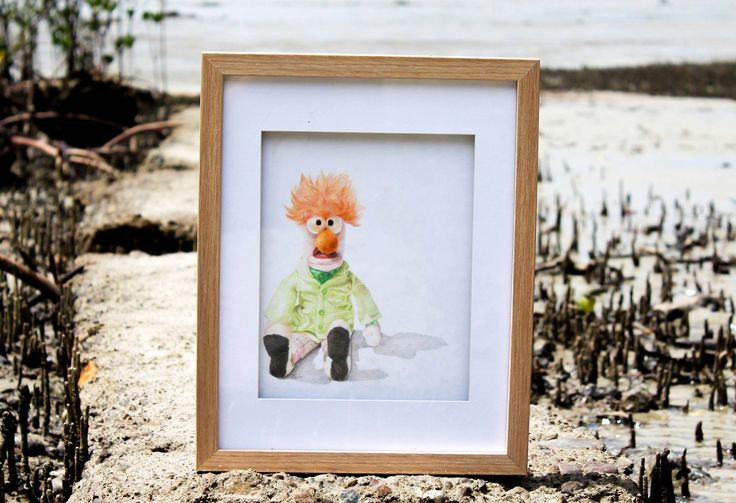 'Beaker' by Shanay.   #Colour #Pencil on #Paper