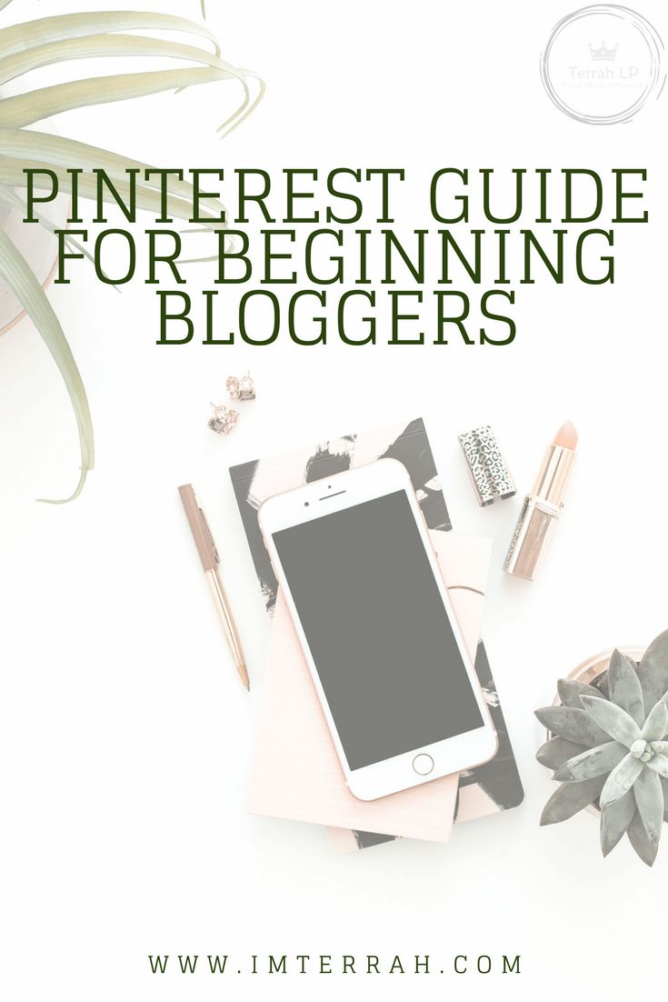 So, let's do it! Let's discuss this Pinterest Guide for Beginning Bloggers. Everything you'll need and everything you will want to do.