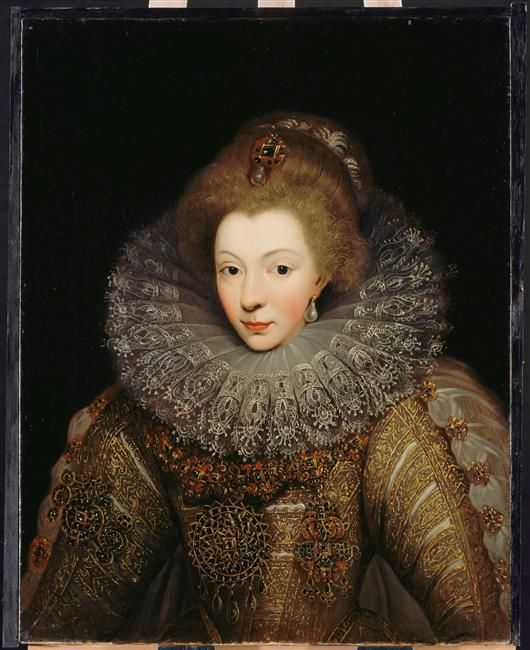 Amelie de la Noue Cordelier portrait de Catherine de Bourbon, duchesse d'Albret et de Bar (1559-1604)