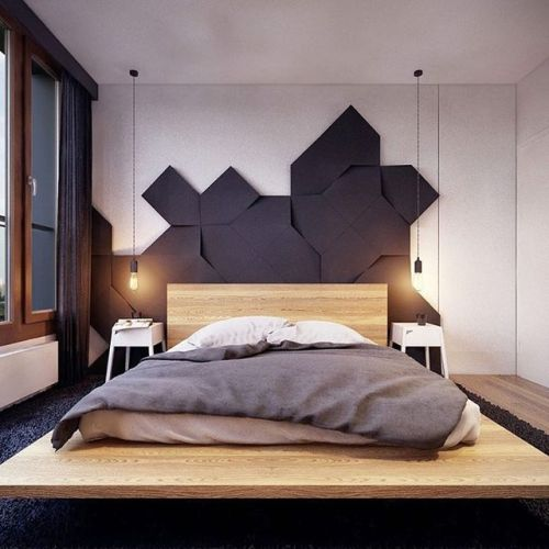 Dream bedroom this year || Feel the wilderness straight from your home and keep up with the latest interior design trends || #nicedesign #inspirationalideas #bedroom || Explore more: http://homeinspirationideas.net/category/room-inspiration-ideas/bedroom