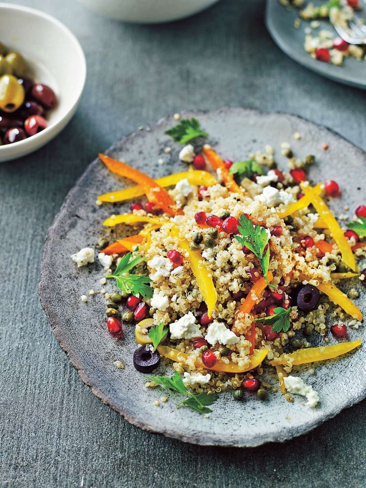 Jumping jewelled quinoa salad by Dale Pinnock from The Medicinal Chef: Healthy Every Day   Cooked