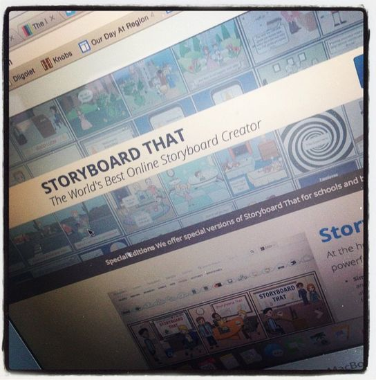 Just Look What You Can Create With StoryBoard That....The World's Best Online Storyboard Creator