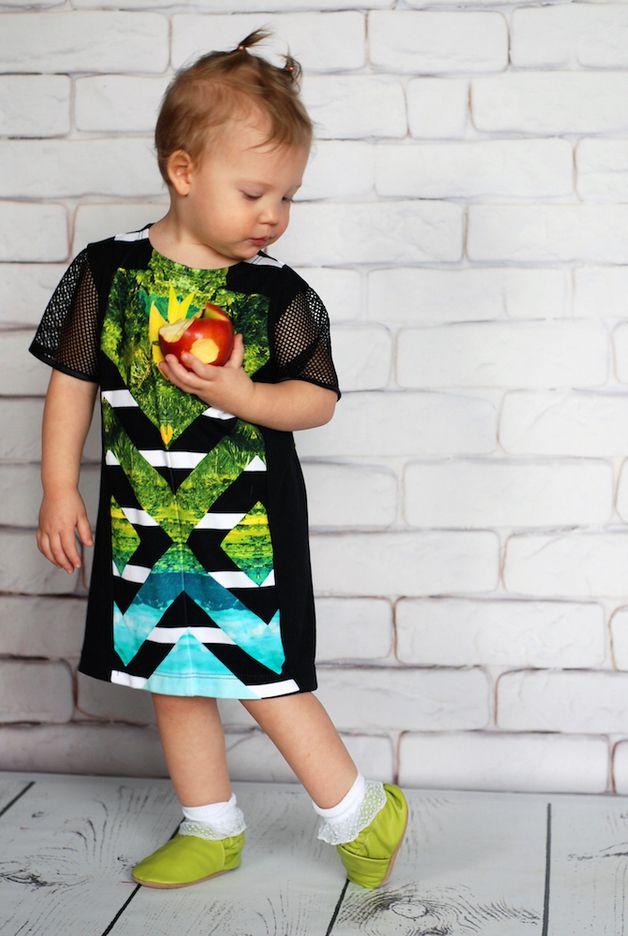 """Letnia rozszerzana sukienka """"LaPalma""""... - KOKILOK - Sukienki dla dziewczynek"""