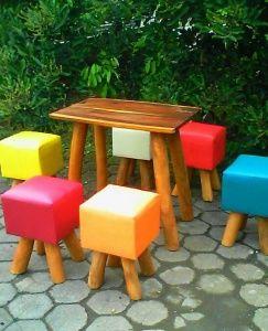 Kursi Teras Kafe Minimalis | Alfah Furniture