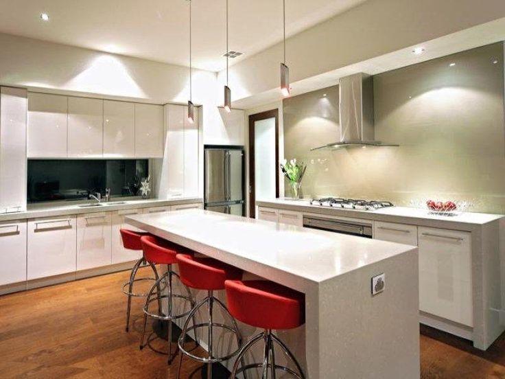 Art deco kitchen-dining kitchen design using hardwood - Kitchen Photo 168905