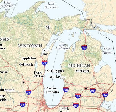 Michigan Wildfire and Prescribed Burn Locations Potential Morel Mushroom Hunting Locations on State Land
