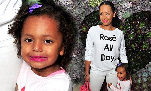 Mel B gets upstaged by her daughter Madison at launch party