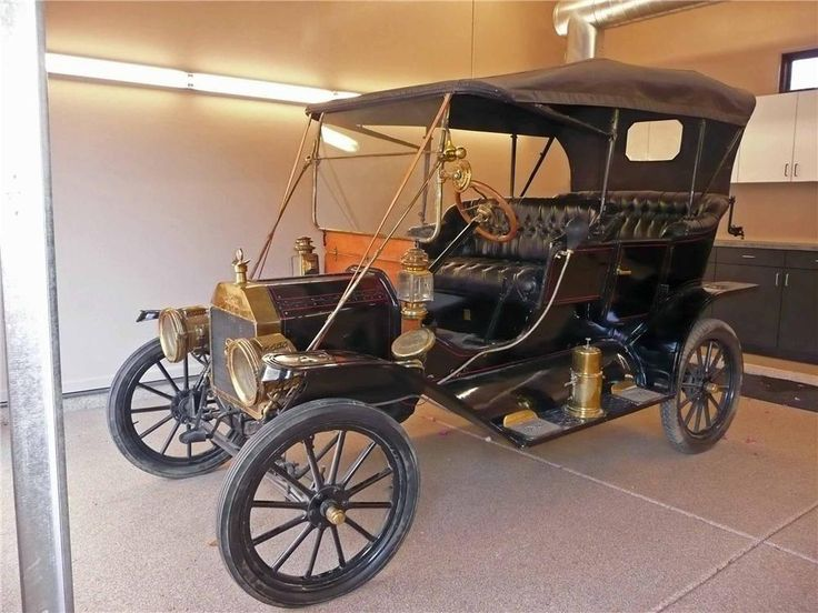 1910 Ford Model T Touring Beautiful 102 Year Old Ford Model T Touring Sedan Black With Red Pin