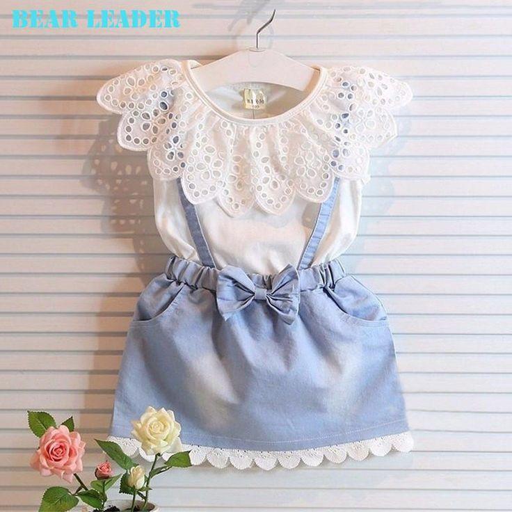 Lindo Vestido Para Niña, 5 Tallas Disponibles
