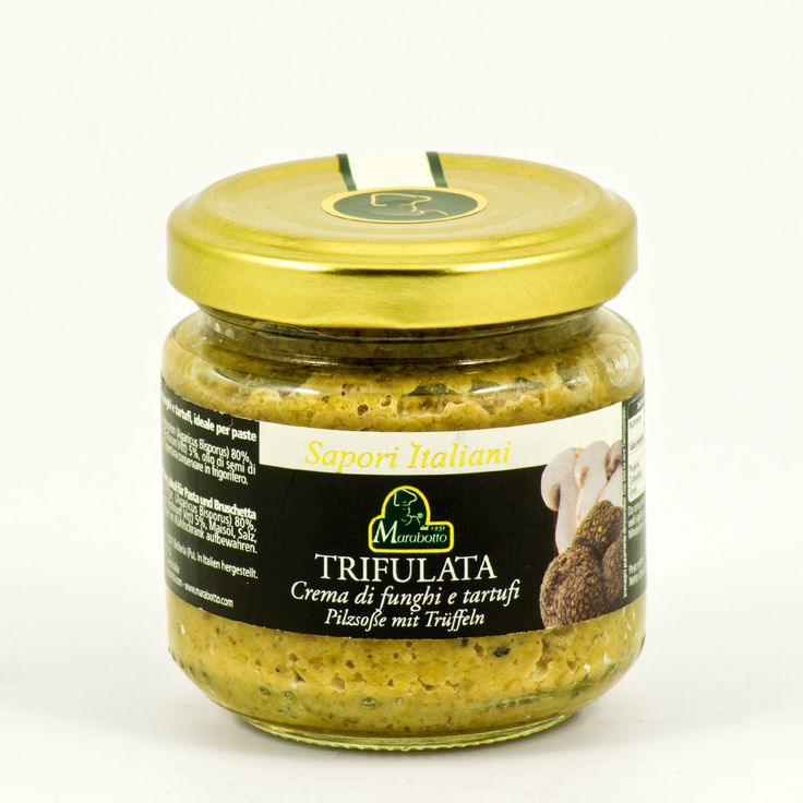 Marabotto, trifulata crema funghi e tartufi 90 g