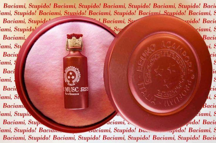 Baciami Stupido Musc #musc #baciamistupido #passion #redpassion #essence #perfume #brunoacamporaprofumi