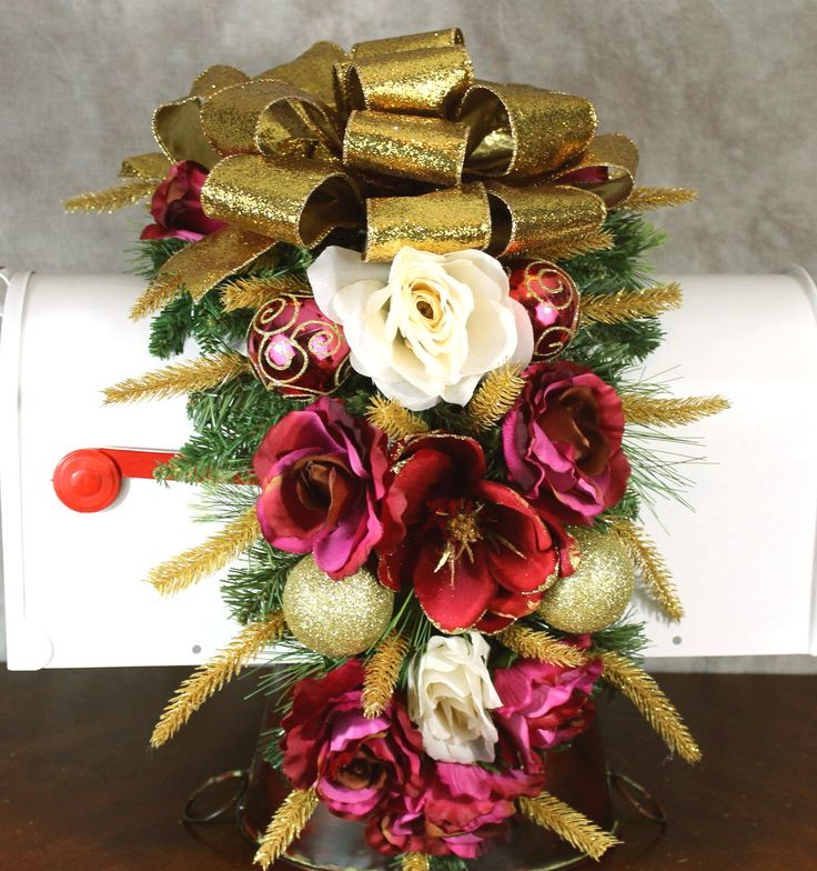 Christmas Swags Decorations: 1000+ Ideas About Christmas Mailbox Decorations On