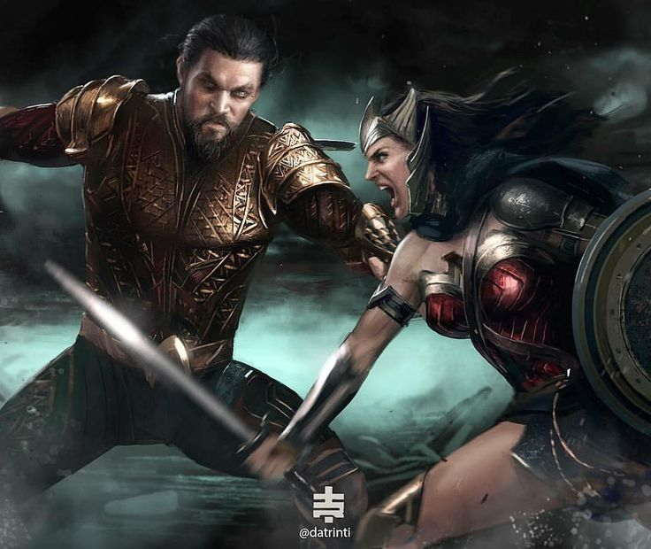 Flashpoint Wonder Woman vs Aquaman by @datrinti | #dcgramm https://pagez.com/4136/36-rickdiculous-rick-and-morty-facts