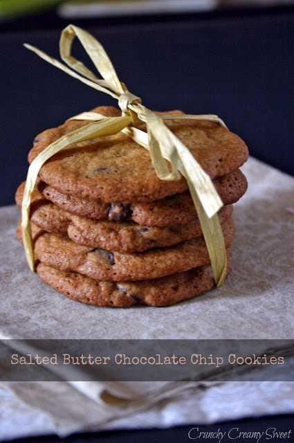 CCC Monday: David Lebovitz's Salted Butter Chocolate Chip Cookies