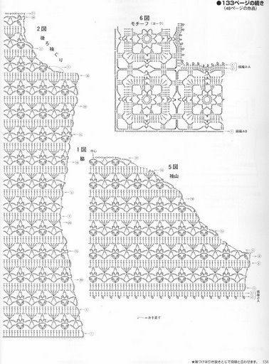 Padrões de Crochê, Artesanato e Reciclagem: 100 MODELOS DE PADRÕES DE BLUSAS PA ...