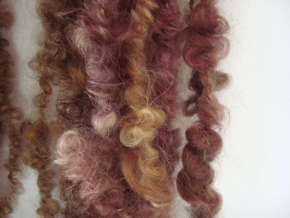 Roses Mohair Art Yarn by deorigenchile on Etsy, $54.00