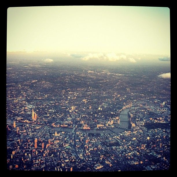 London cityscape from the skies above just before sunset by @mattrhodes: Favorite Places, Places I D, Lb Brochures, London Cityscapes, Instagramyourc London