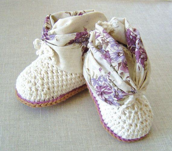 22 besten Babyschuhe häkeln Bilder auf Pinterest | Babyschuhe ...
