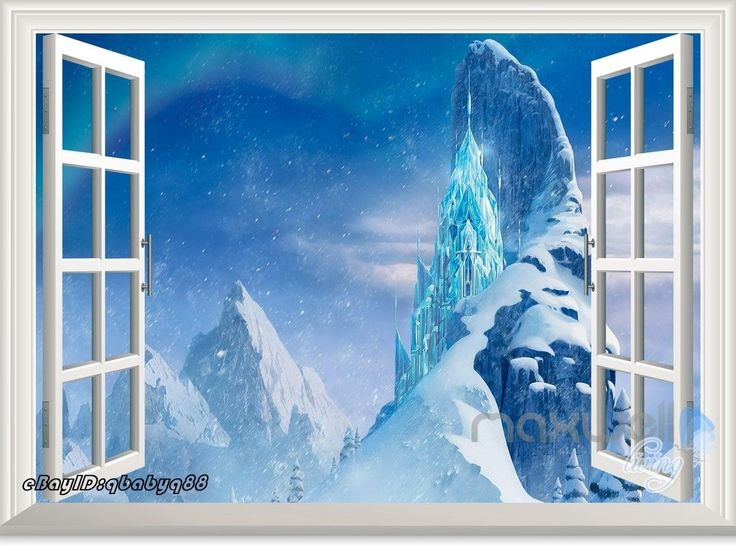 132 best images about dolls house printables doors for Castle wall mural sticker