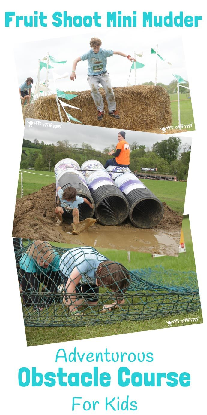 Do your kids like to get muddy and enjoy a challenge? They'll love Fruit Shoot Mini Mudder, a one mile obstacle course mud run for adventure-seeking kids.