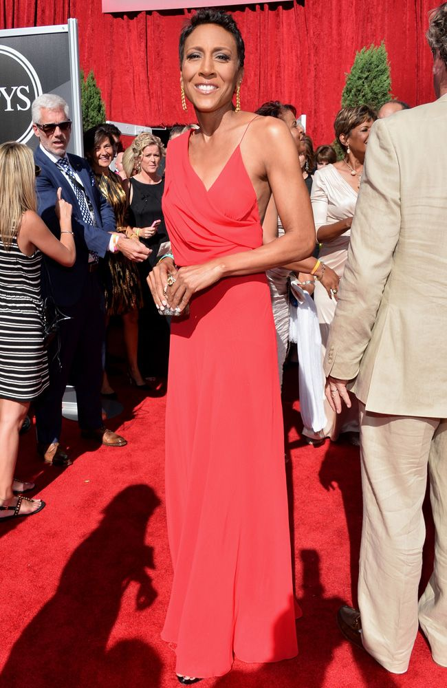 Best-Dressed Stars at the ESPY Awards: Robin Roberts, Gabby Douglas, and More