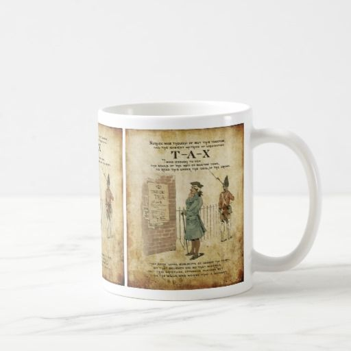 Boston tea Party Independence Day Coffee Mug
