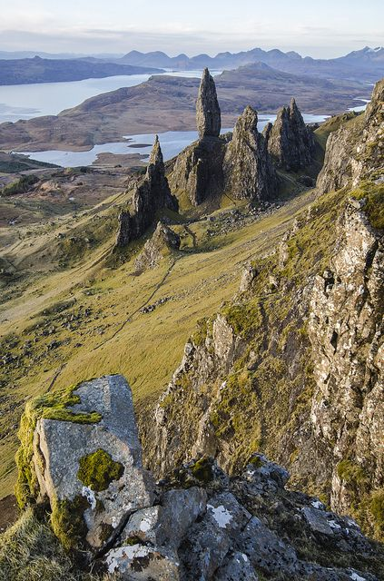 Old Man of Storr, Isle of Skye, Inner Hebrides, Scotland