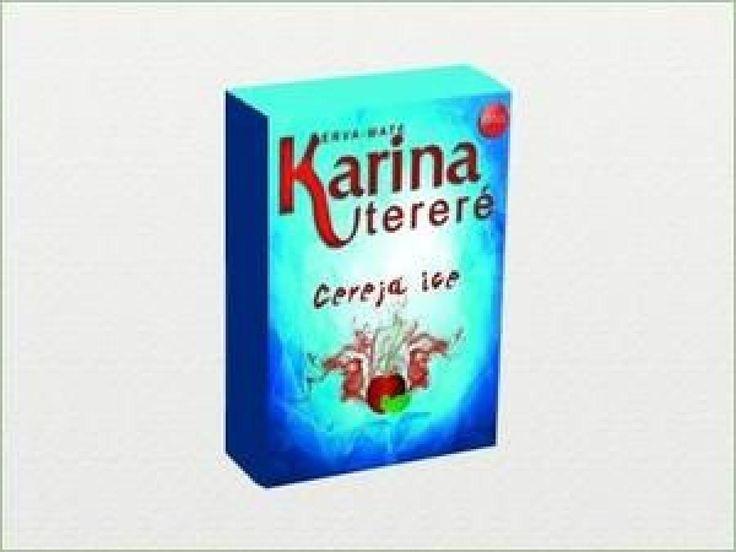 Erva Mate Karina CEREJA ICE 500g