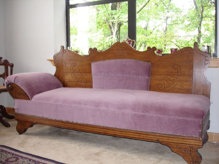 17 Best Images About Antique Fainting Couches On Pinterest