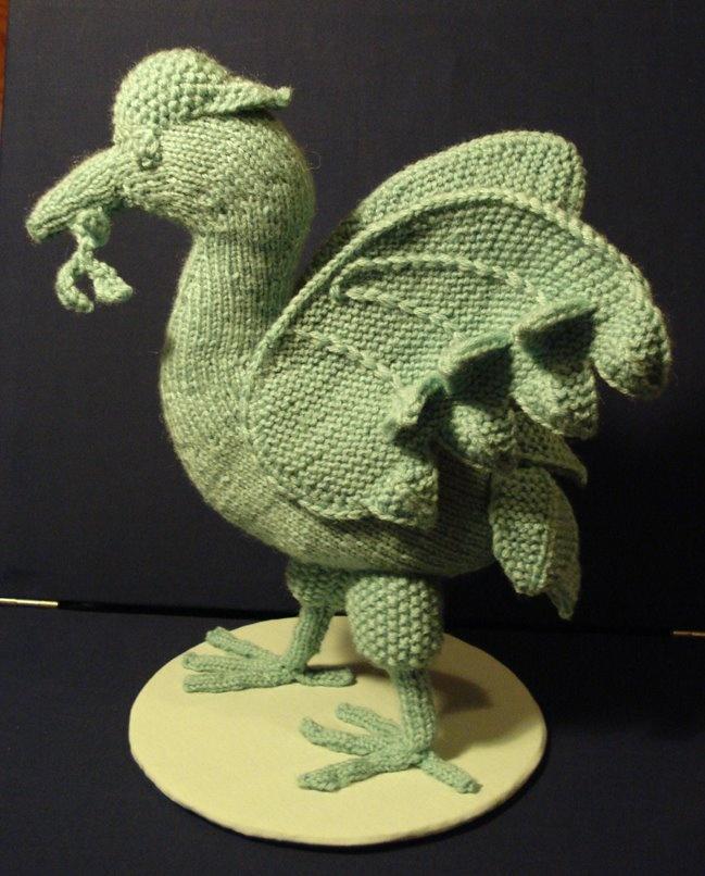 Knitted Liver bird!