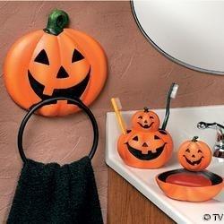 Best Halloween Potty Humor Images On Pinterest Halloween - Halloween bathroom decor sets