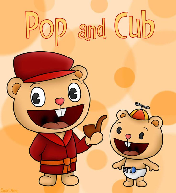 Pop and cub are always together. But pop is so overprotective that he always ends up getting cub killed instead of keeping him from being killed. Then pop usually gets killed himself.