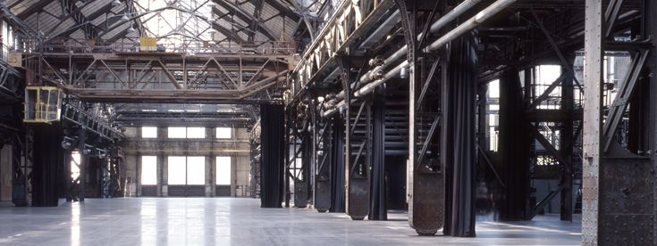 Jahrhunderthalle Bochum > Besucher > Architektur