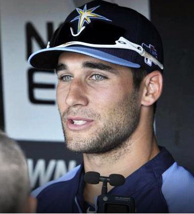Tampa Bay Rays - Kevin Kiermaier made his major league debut last September with the Tampa Bay Rays. The 27-year-old outfielder could make his first Opening Day roster with a strong performance this spring. He was also named  Best 2013 defensive Player in the Rays system. Not only that - He's so darned cute! ♥ Go Kevin!