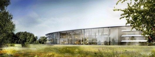 Foster's Apple Headquarters © Foster + Partners, ARUP, Kier + Wright, Apple via arch daily