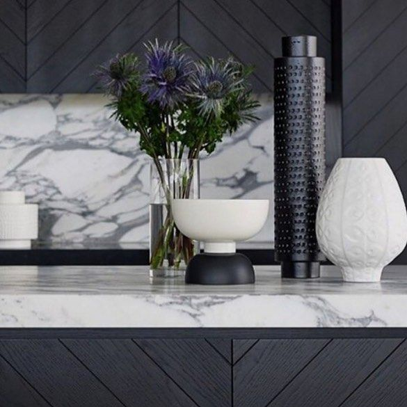Kitchen details. Bit of darkness to match the gloomy Sydney weather but I'm loving the joinery and marble fit out. #kitchen #kitchendesign #interiordesign #interiorstyling