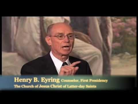 Elder Henry Eyring and Elder Cleon Skousen - Inspired Unity - YouTube