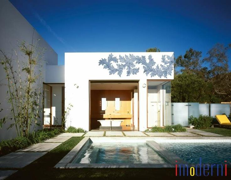 34 besten Modern Outdoor Wall Paper Bilder auf Pinterest - geometrische formen farben modernes haus