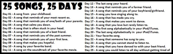 Music Challenge Day 3