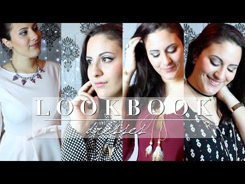 🎀 LOOKBOOK - 3 dresses -Serena Wanders #lookbook #dresses #dress #outfit #detail #outfits #of #the #week #day #ootd #ootn #night #out #serenawanders #nightout #youtuber #youtube #shein #promod #jennyfer #boho #statement #necklace #statementnecklace