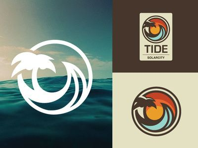 Ocean Surf Logo in Logo