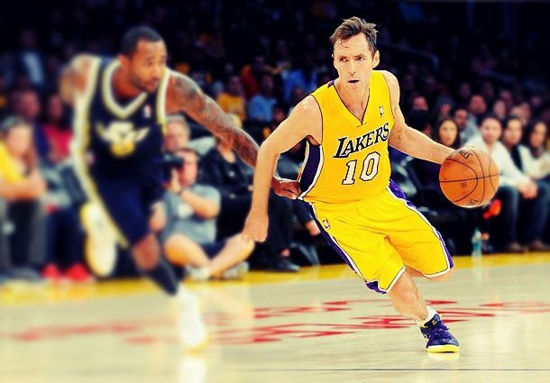 steve nash in Lakers