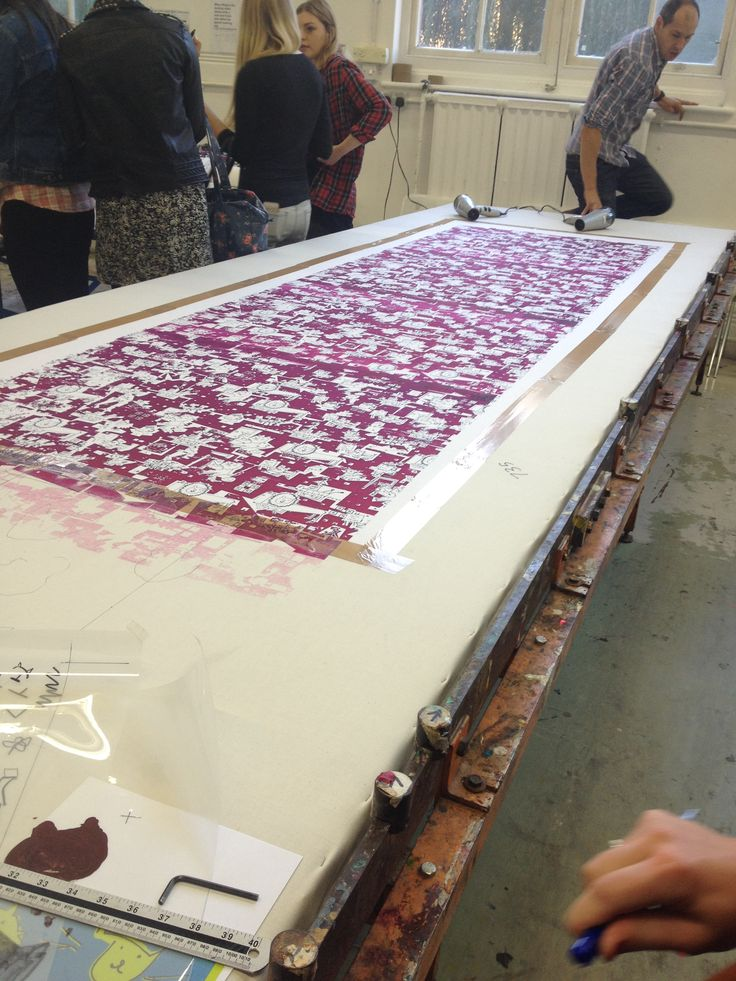 Repeat print induction:Registration marks need to match up ...