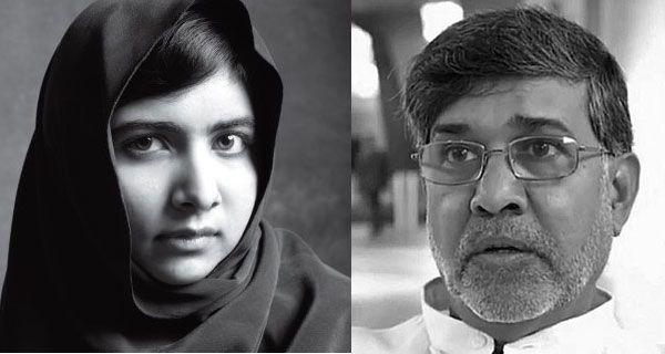 Nobel per la Pace 2014 a Malala Yousafzai e Kalilash Satyarthi per il loro impegno a favore dei bambini.