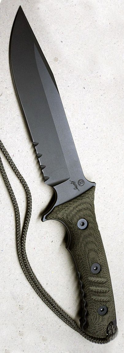 Chris Reeve Pacific Tactical Fixed Knife Blade @aegisgears