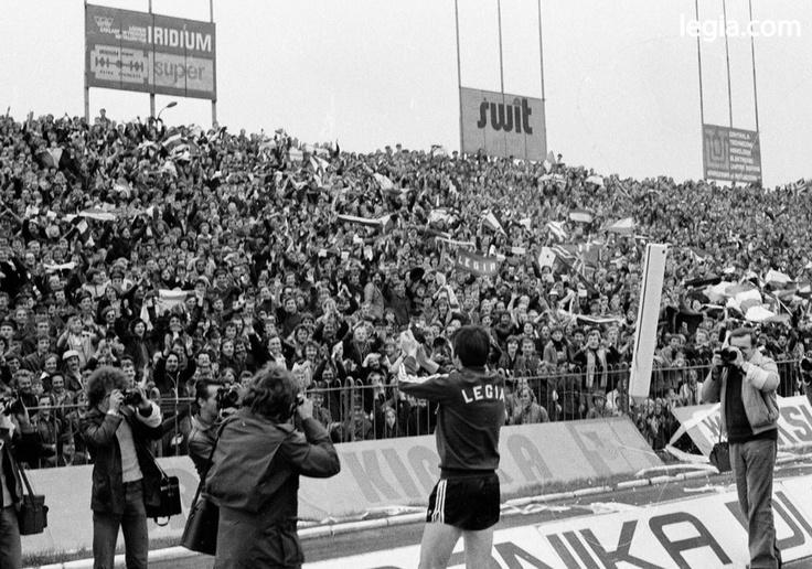 Fot. EUGENIUSZ WARMIŃSKI  KAZIMIERZ DEYNA, MECZ LEGIA - MANCHESTER CITY, 1979